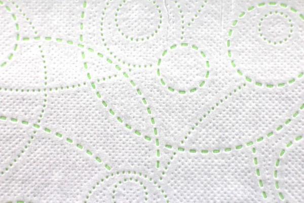 IBEKOClassic Falthandtücher weiß-grün