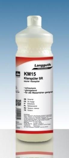 Klarspüler sauer SR (KM15) 1 Liter Flasche