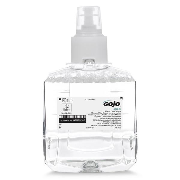 GOJO® MILD FOAM milde Schaumseife für die Hände (LTX-12™/1.200ml)
