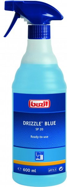 Buzil Drizzle® Blue (SP20) 600ml Sprühflasche