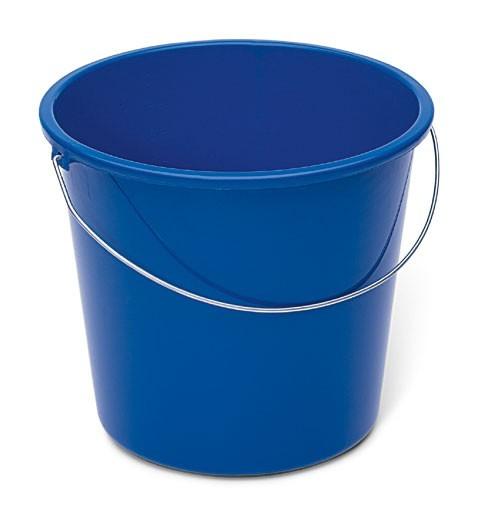 Nölle Haushaltseimer, blau, 10 Liter, Kunststoff