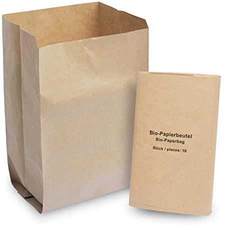 Bio-Papierbeutel 11-12L braun