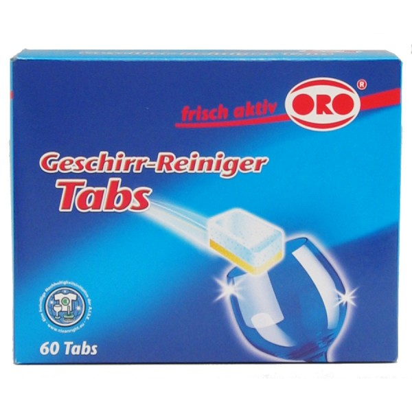 ORO® frisch-aktiv Geschirr-Reiniger Tabs