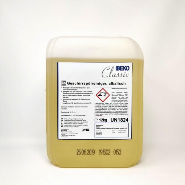 IBEKOClassic Geschirr -& Gläserspülreiniger (alkalisch) 10L/12kg Kanister