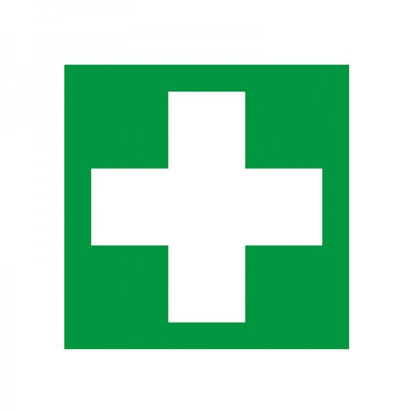 "GRAMM Symbol ""Erste Hilfe"" Folie selbstklbend 150 x 150 mm"