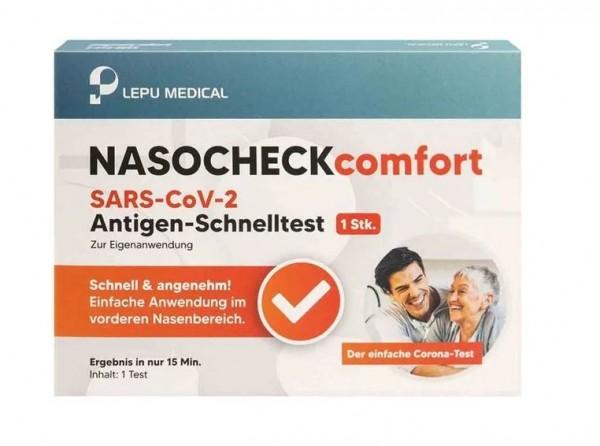 LEPU MEDICAL NASOCHECKcomfort SARS-CoV-2 Antigen-Schnelltest