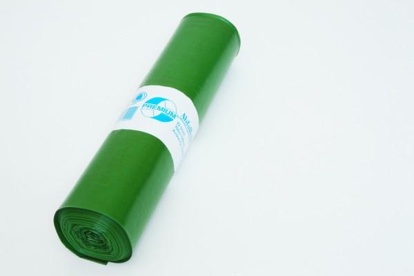 DEISS PREMIUM Müllsack 120 Liter grün