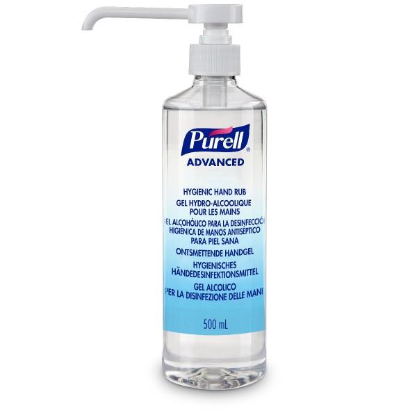 PURELL® Advanced Gel 500ml Pumpflasche