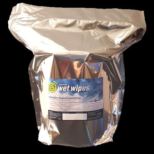 wet wipes® Desinfektionstücher 750 Tücher