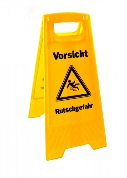 WetLine Warnschild 2-sprachig gelb
