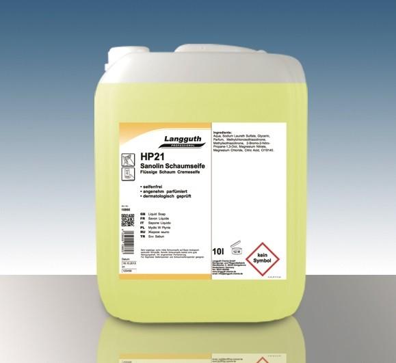 Sanolin Schaumseife (HP21) 10L Kanister